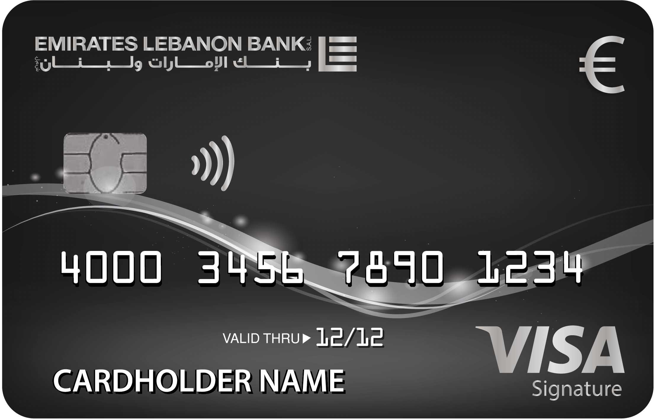 La Carte Visa Signature Euro